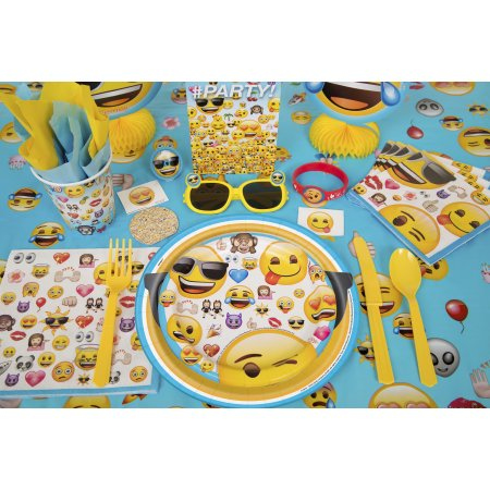 Emoji Party Supplies  sc 1 st  Walmart & Emoji Party Supplies - Walmart.com