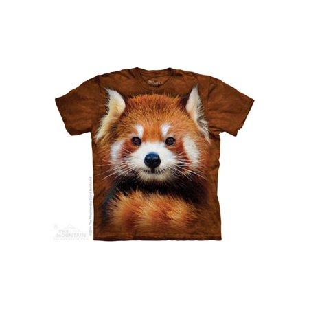 The Mountain Red Panda P - Ch Big Boys T-Shirt Tee