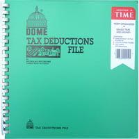 DOME BOOK;TAX DEDUCTION FILE