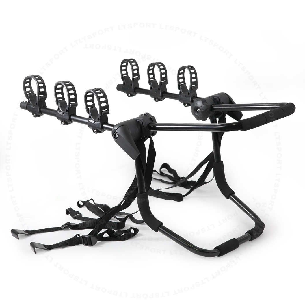 3-Bike Carrier For 1950-1950 Saab By Trunk 1 Set For 9-2X by LT Sport