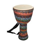 Orff World 8 inch Djembe Percussion Musical Instrument African Style Hand Drum