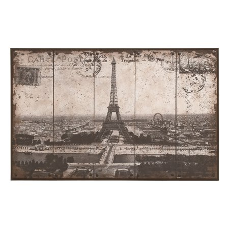 Contemporary Postcard Styled Canvas Wall Art