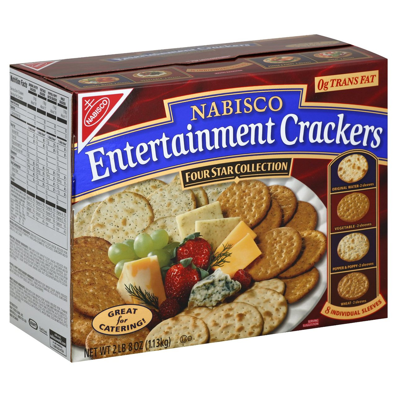 4 PACKS : Nabisco Entertainment Crackers, 40 Ounce