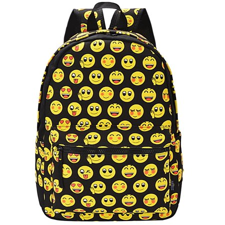 Cool Girls Backpacks (Emoji Backpack, Cute Girls Backpacks Cool Colloge Book Bag School Bags for Women Kids)