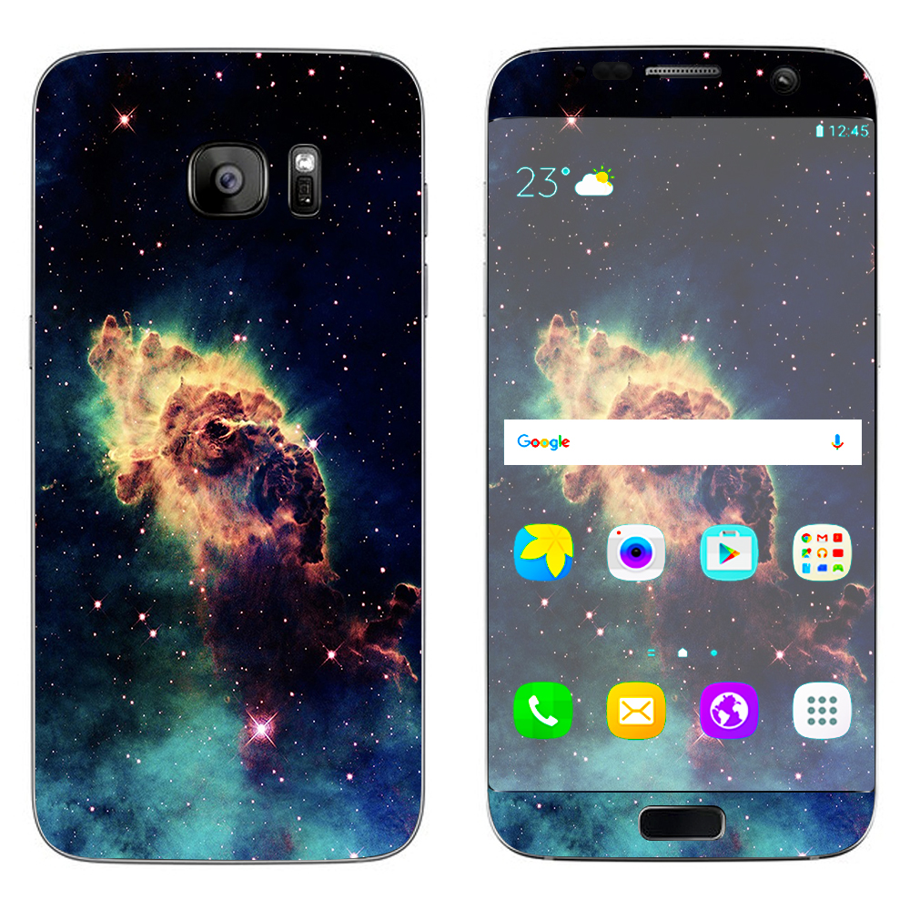 Skins Decals For Samsung Galaxy S7 Edge / Nebula 2