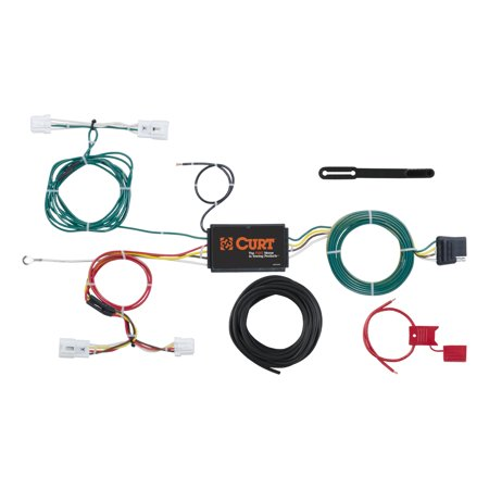 CURT Mfg 56294 Wiring Custom Vehicle-to-Trailer Wiring Harness - Provides Nissan Trailer Wiring on