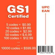 UPC Code Amazon UPC Codes Barcodes EAN UPC Codes GS1 Certified