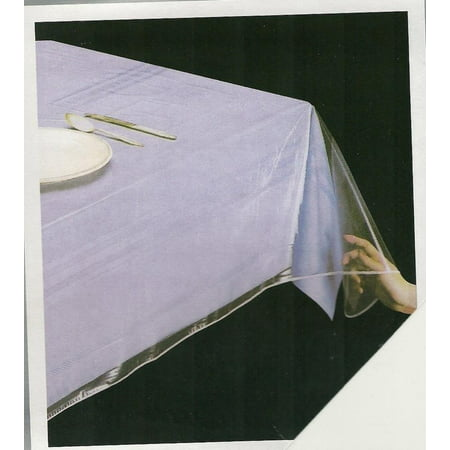 Superior Collection Clear Heavy Duty Tablecloth Protector