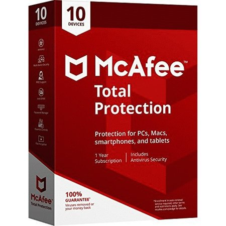 McAfee Total Protection 10 Device