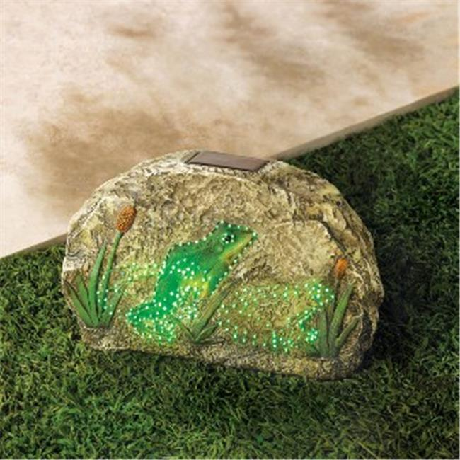 Zingz & Thingz 57070065 Magic Motion Frog Garden Stone