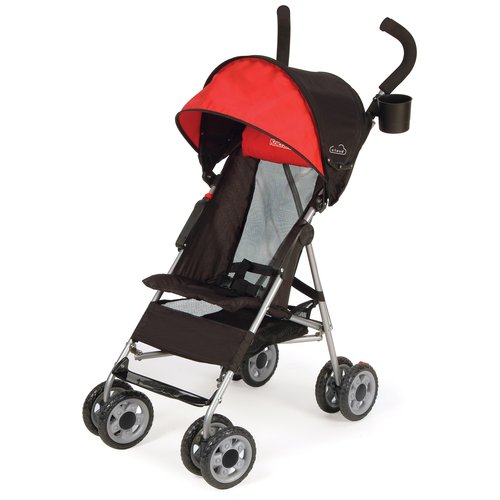 Kolcraft Cloud Umbrella Stroller, Scarlet Red