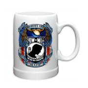 Erazor Bits POW MIA True Hero 20oz Stoneware Coffee, Beverage Mug