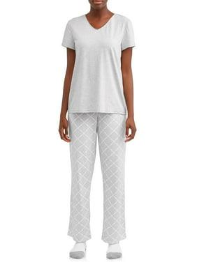 7ccebbd3f43 Product Image Secret Treasures Women s and Women s Plus 3-Piece Pajama Set  (Top