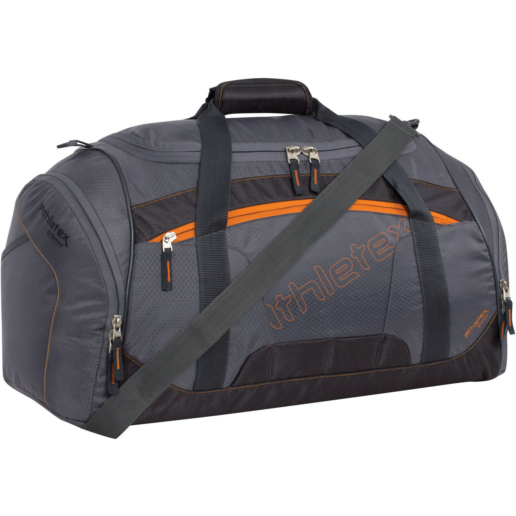 Athletex Ballistic Duffle Bag, Grey