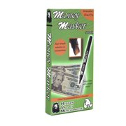Money Marker - Counterfeit Bill Detector Pen with Upgraded Chisel Tip (5 Pens)