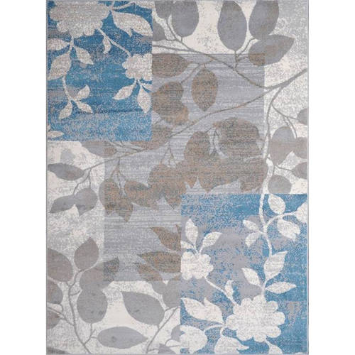 Click here to buy Home Dynamix Tremont Collection HD5282-196 Beige-Blue Modern Floral Area Rug by Home Dynamix.
