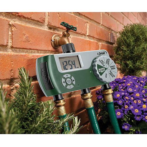 Orbit 3-Port Digital Hose Watering Timer