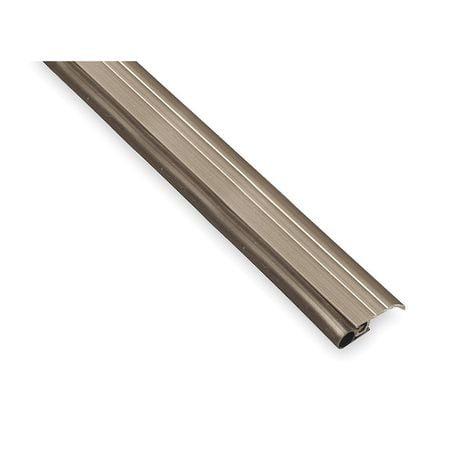 PEMKO 297AV36 Door Frame Weatherstrip, 3 ft, Gray
