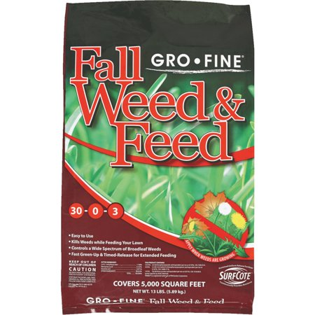 Gro-Fine Winterizer Fall Weed & Feed Fertilizer