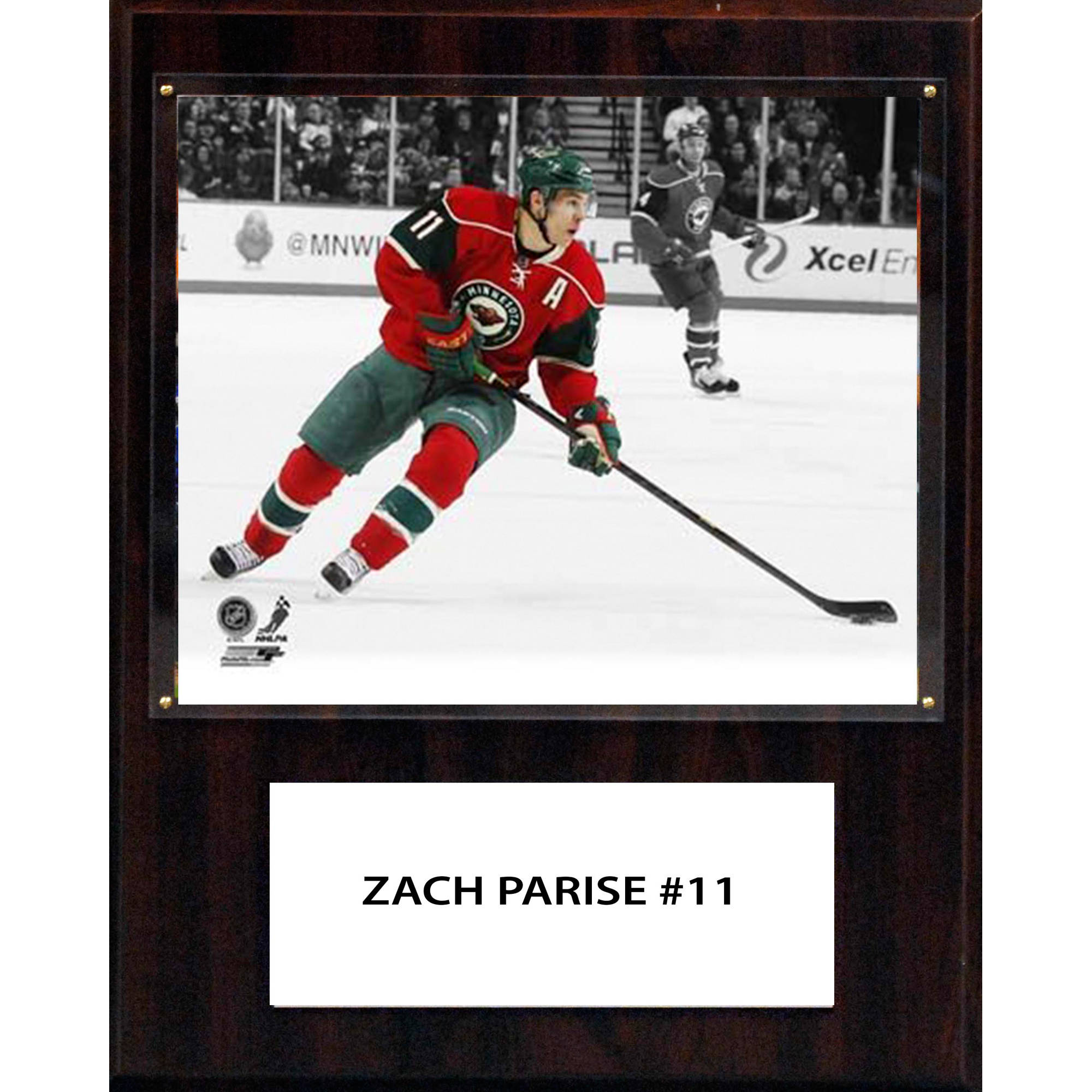C&I Collectables NHL 12x15 Zach Parise Minnesota Wild Player Plaque
