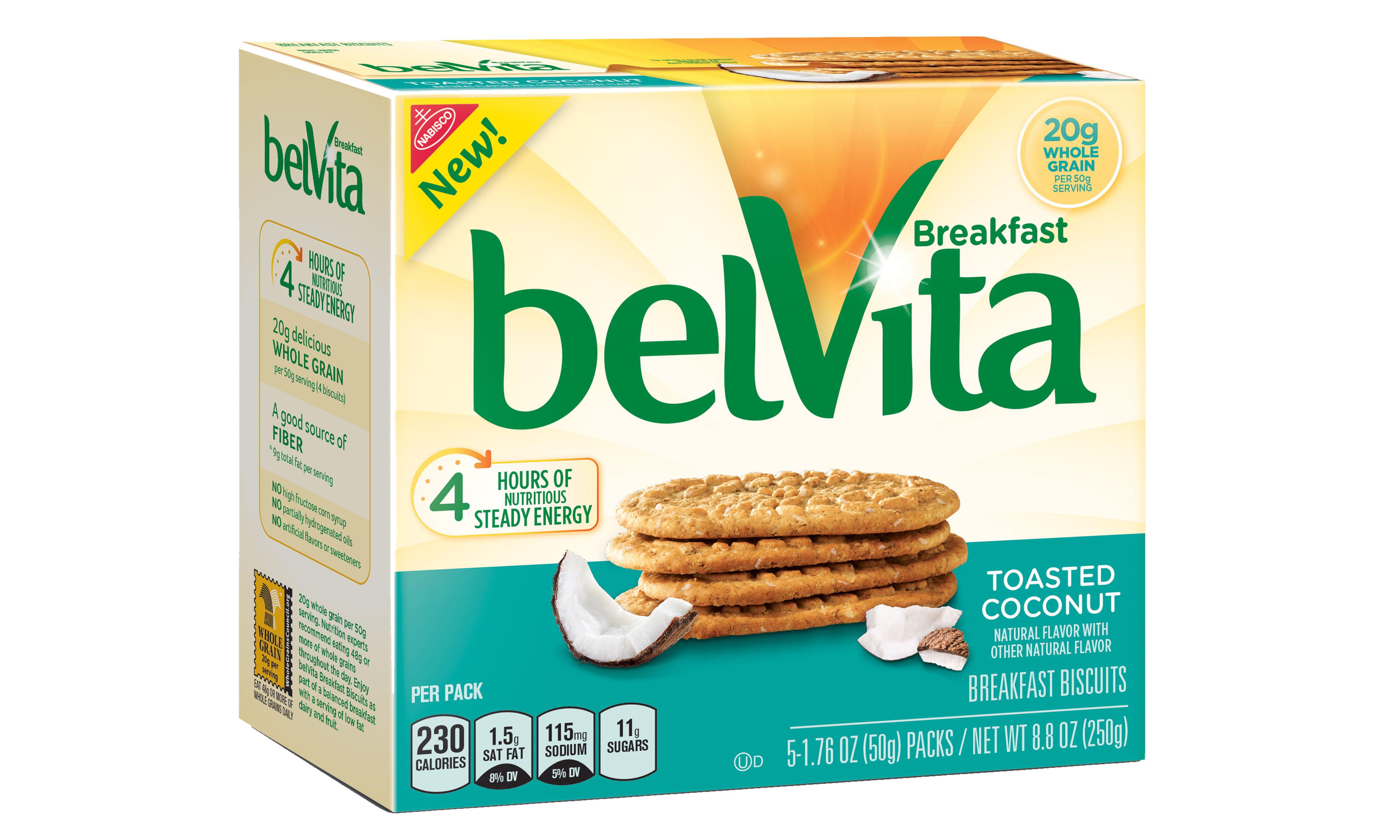 belVita Toasted Coconut Breakfast