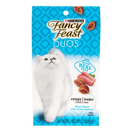 Purina Fancy Feast Duos Tuna Flavor with Accents of Parsley (Pack of 4)