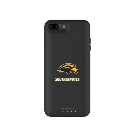 Mophie IPH-87P-BK-JPA-SOMI-D101 Black Juice Pack Air Case with Southern Mississippi Golden Eagles Primary Mark Design for iPhone 8 Plus & iPhone 7 Plus - image 1 de 1