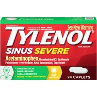 Tylenol Sinus Severe Daytime Non-Drowsy Caplets, 24 Ct