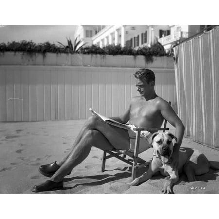 Douglas Fairbanks Jr shirtless Photo Print