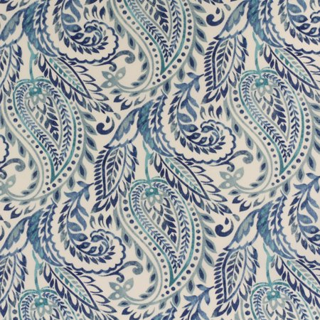 "Berkshire Home Polyester 54"" Indoor/Outdoor Algura Denim Fabric, per Yard"