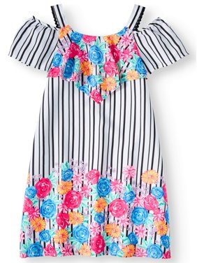 b0c5afef6 Little Girls Dresses   Rompers - Walmart.com