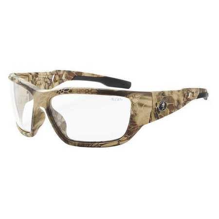 SKULLERZ BY ERGODYNE Safety Glasses,Clear BALDR