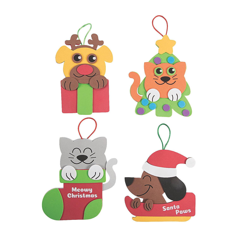 Christmas Pet Ornament 12 - Craft Kits - 12 Pieces ...