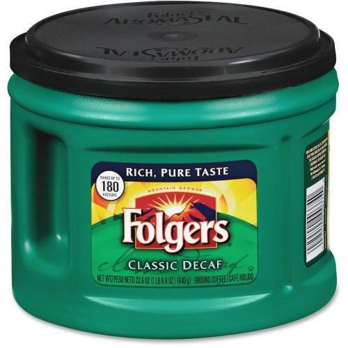 Folgers 00374CT Custom Aroma Roast Coffee - 6 / Carton