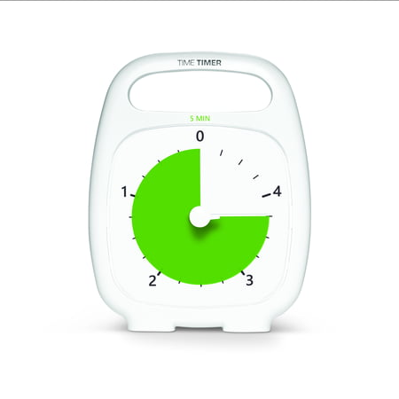 Time Timer PLUS 5 Minute Visual Timer Elapsed Time Timer