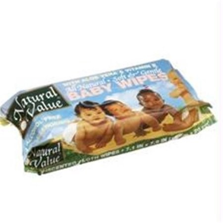 Natural Value Baby Wipe Refill (12x80 Ct)