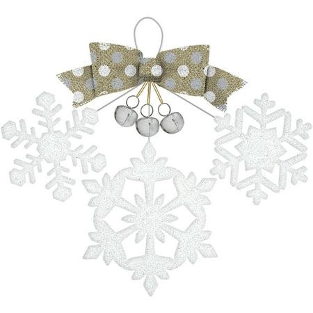 Winter Wonderland Deluxe Glitter Sign
