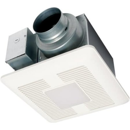 Panasonic FV-0511VQL1 110 CFM 0.4 Sones Ceiling Mounted LED Lit Exhaust Fan with