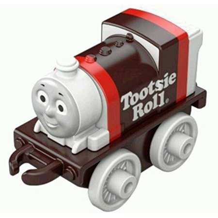 Tootsie Roll Percy MINI - Thomas & Friends MINIS 2016/3 Blind Bag #65 Single Train - Percy The Train