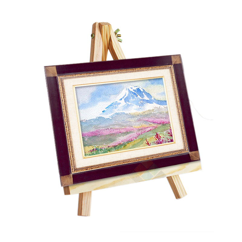 Zimtown 9  Artist Wood Tripod Drawing Easel Stand Display Photos Wedding Decorative Plates Holder for  sc 1 st  Walmart & Zimtown 9