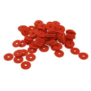 90 Pcs Piano Keyboard Washers Musical Instrument Builders Repairer Parts