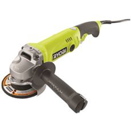 RYOBI 6.5-AMP ANGLE GRINDER WITH TRIST HANDLE