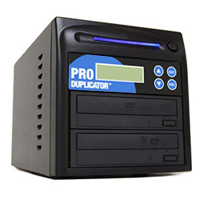Produplicator A1DVDS24X 1 to 1 target SATA Serial ATA 24x DVD Plus --RW Drive CD DVD Multiple Burner Duplicator Plus USB
