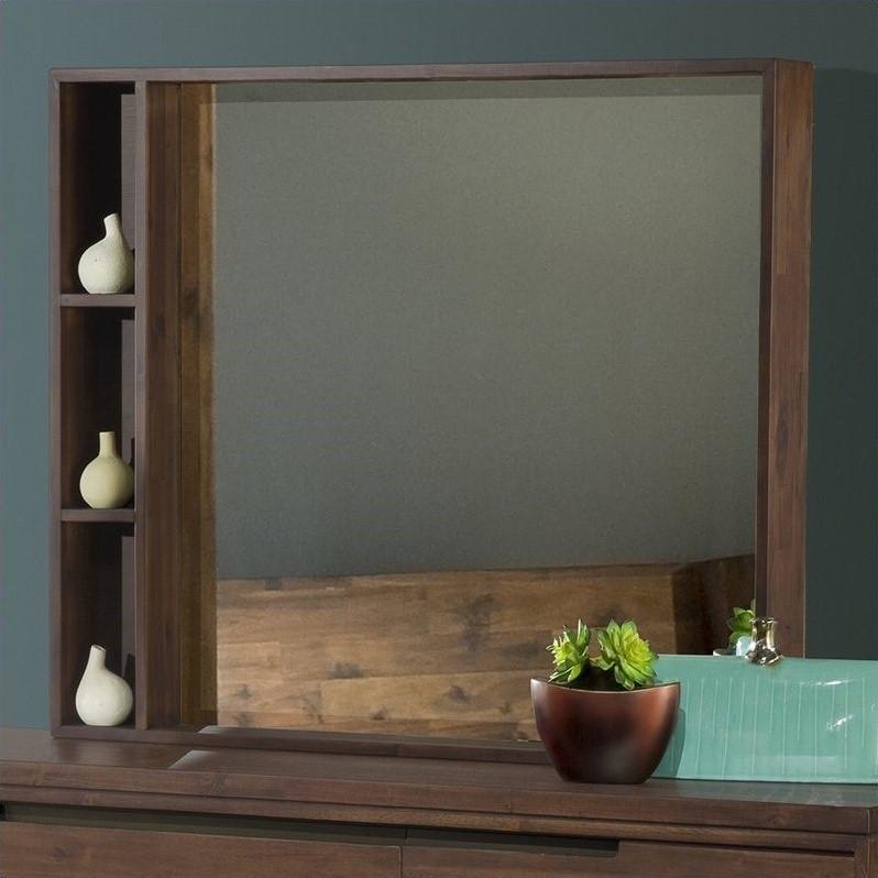 Modus Furniture Portland Mirror in Walnut by Modus Furniture International