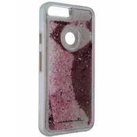 Case-Mate Naked Tough Waterfall Case Google Pixel XL - Clear / Pink Glitter