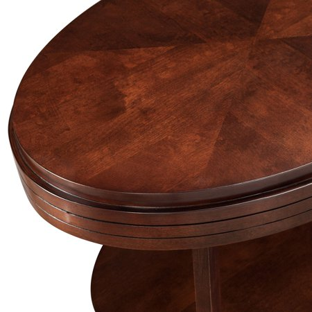 Leick Home Oval Condo/Apartment Coffee Table