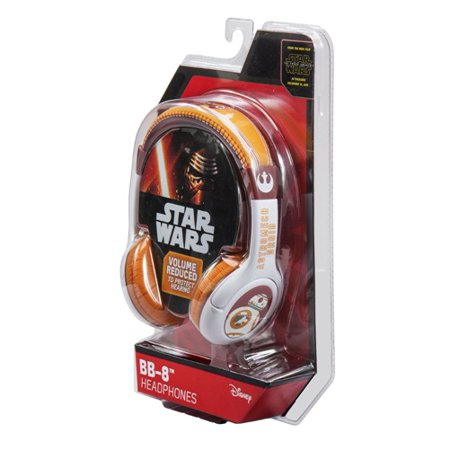 Star Wars -The Force Awakens BB 8 Youth Headphones (Star Wars Headphones For Kids)