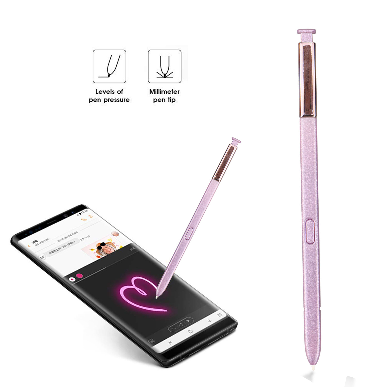 Stylus Pen, EEEKit Touch Screen Stylus Pen Replacement S Pen with Gesture Control Button for Samsung Galaxy Note 9