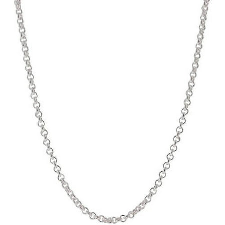 A&M .925 Sterling Silver 2mm Rolo Chain, 22