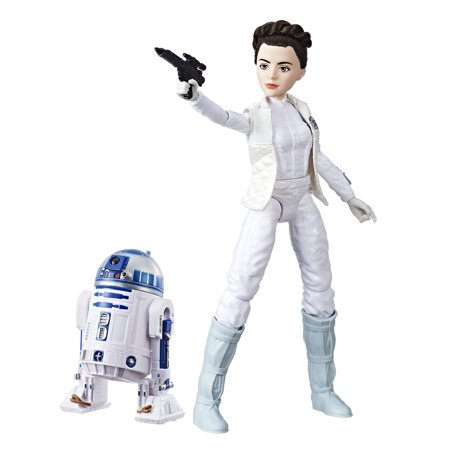 Star Wars Forces of Destiny Princess Leia Organa and R2-D2 Adventure